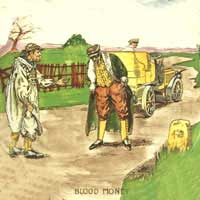 Royal Doulton Motoring Series Ware - Blood Money